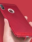 povoljno Zaštitne folije za iPhone-Θήκη Za Apple iPhone XS / iPhone 8 Ultra tanko Stražnja maska Jednobojni / Geometrijski uzorak PC