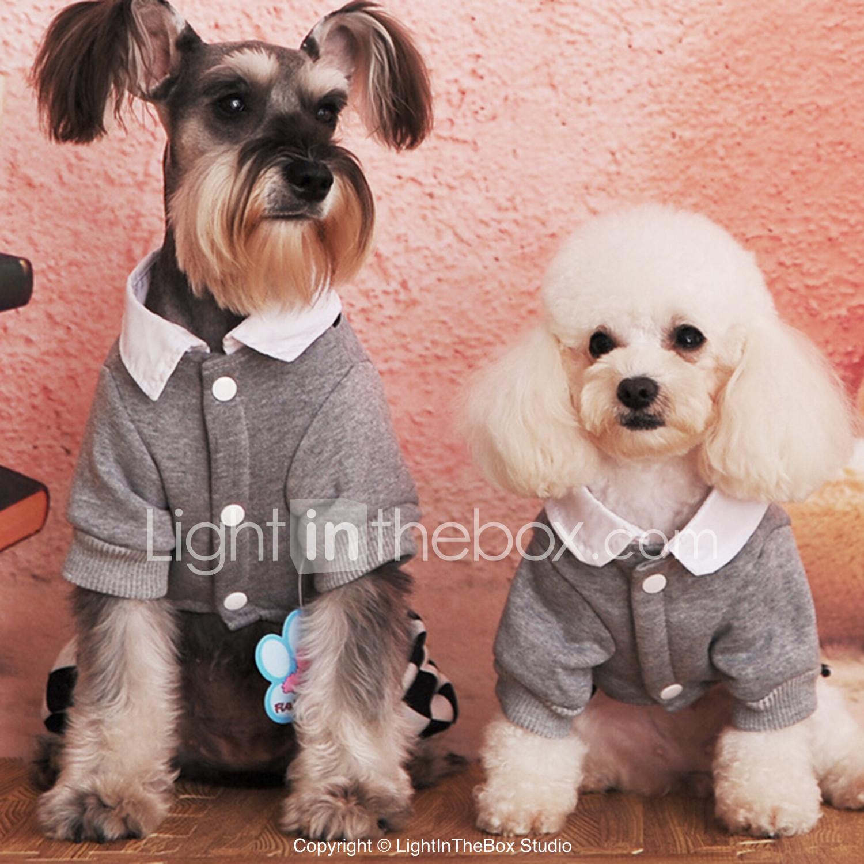Perros Vestidos Azul Ropa para Perro Primavera/Otoño Moda 4873728 ...