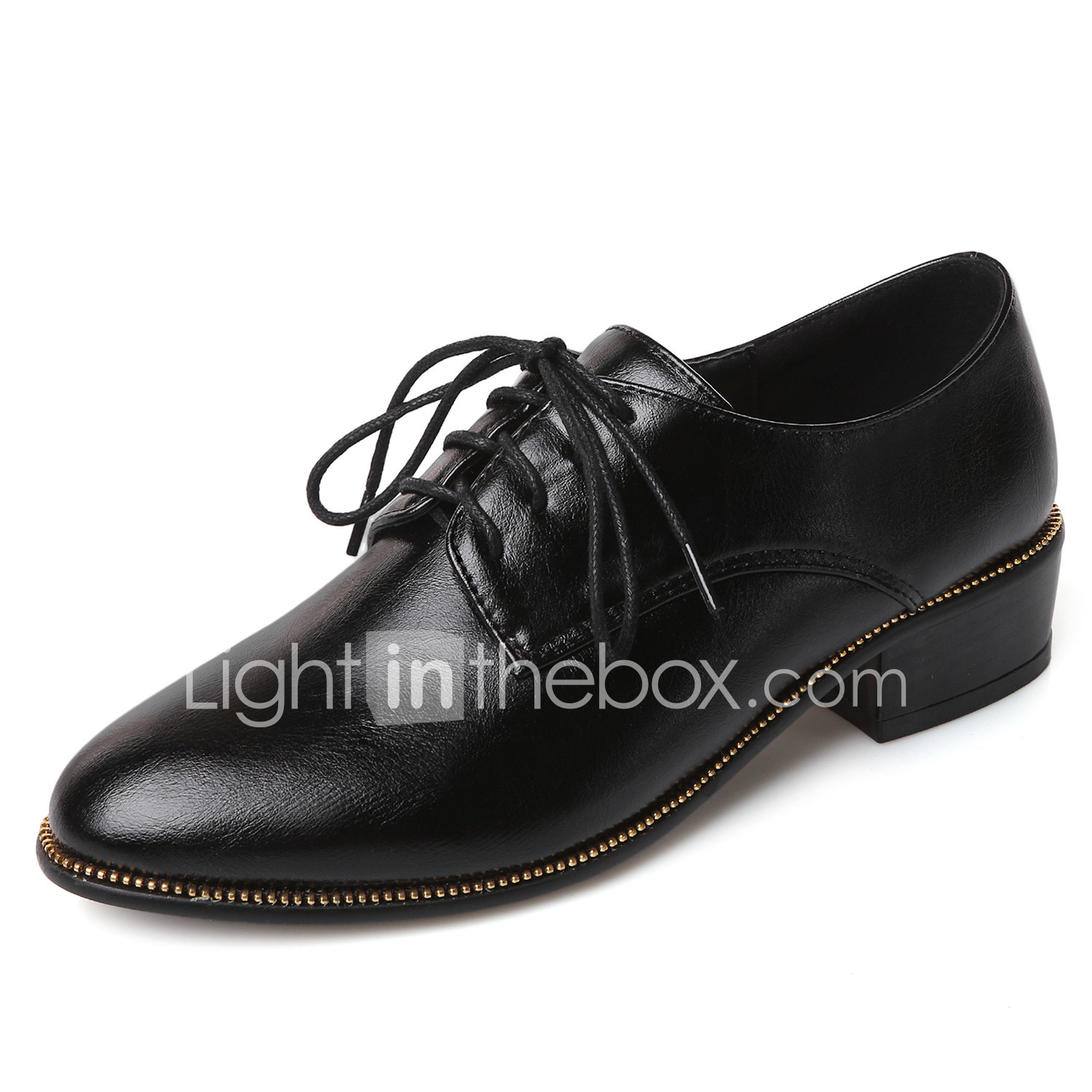 Women's Shoes Spring/Summer/Fall/Winter Platform/Round Toe Oxfords Office &