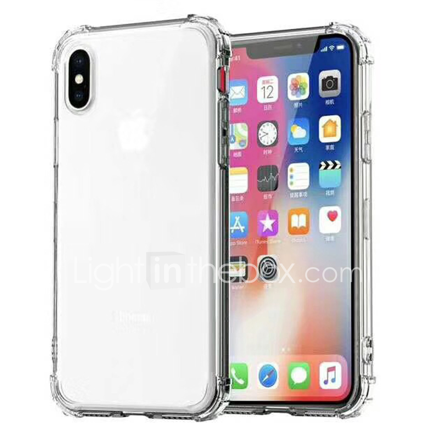 81e5afc7e9f Case For Apple iPhone XS   iPhone XS Max Shockproof   Transparent Back Cover  Solid Colored