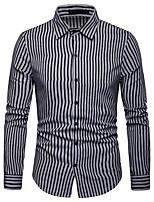 b4eb962566e levne Pánské košile-Pánské - Proužky   Barevné bloky Business   Základní  Košile