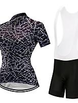 8a5b1514f cheap Cycling Clothing-FirtySnow Women  039 s Short Sleeve Cycling Jersey  with Bib