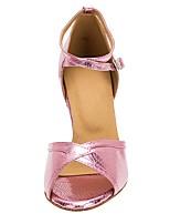 625f45525cbe1 abordables Chaussures de Danse-Femme Chaussures Latines Faux Cuir Talon  Fantaisie Mince haut talon Personnalisables