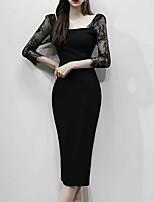 f2cfa63e66d8 economico Vestiti da donna-Per donna Essenziale Attillato Vestito -  Collage