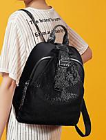 323de71180ac olcso Hátitáskák-Női Cipzár hátizsák PU Tömör szín Fekete / Ősz & tél