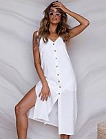 d16ba9072c abordables Vestidos de Mujer-Mujer Chic de Calle Elegante Recto Vestido -  Espalda al Aire