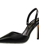 87ad712b abordables Zapatos de Mujer-Mujer Sintéticos Otoño / Primavera verano Dulce  / Británico Tacones Tacón