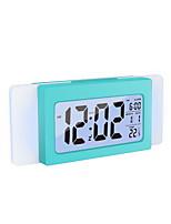4e6575f4c رخيصةأون ساعات الحائط-ساعة حائط ساعة لسطح الطاولة الحديث المعاصر بلاستيك  مربع
