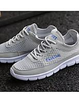 ff3c0afa1 baratos Sapatos Esportivos Femininos-Unisexo Tissage Volant Primavera Tênis  Caminhada Sem Salto Preto / Cinzento