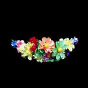 Mujer Niña de flor Papel Celada-Boda Ocasión especial Flores