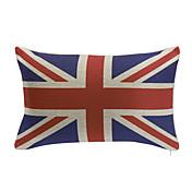 イングランド高品質の綿の装飾的な長方形の枕カバー