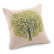 国鮮やかな木の装飾的な枕カバー