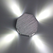 LED Integrado Moderno/Contemporáneo Galvanizado Característica for LED Bombilla Incluida,Luz Ambiente Luz de pared