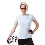Mujer Camiseta de running Manga Corta Secado rápido Transpirable Camiseta Top para Camping y senderismo Escalada Ejercicio y Fitness