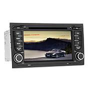 reproductor de DVD del coche de los gps de Audi A4 de apoyo, canbus, iPod, BT, RDS, pantalla táctil, con 1 felicitaciones tarjeta del tf