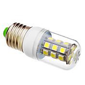 lm Bombillas LED de Mazorca T 27 leds SMD 5050 Blanco Fresco