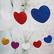 día de San Valentín tarjeta de papel duro decoraciones de la boda recepción nupcial