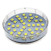 5W GX53 LEDスポットライト 36 LEDの SMD 5050 クールホワイト 280-350lm 6000-7000K 交流220から240V