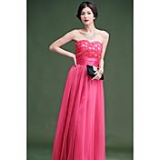 Women'sStraplessプリンセスローズのドレス