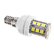 E14 Bombillas LED de Mazorca T 30 leds SMD 5050 Regulable Blanco Fresco 400lm 6000-6500K AC 100-240V