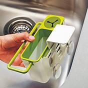 1 キッチン プラスチック ラック&ホルダー