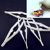 1ks bílá plastová pinzeta nástroj pro pojistkové korálky HAMA korálky DIY puzzle safty pro děti řemesla