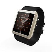 rwatch r6 wearable SmartWatch, brújula / manos libres llamadas / podómetro / perseguidor del sueño para Android / iOS