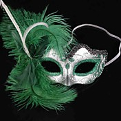 Carnaval Máscara Mujer Halloween Dia de los Muertos Festival / Celebración Disfraces de Halloween Un Color