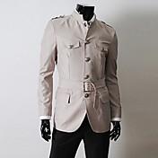 menmax秋のスタイルのカジュアルロングsleevecoats&ジャケットMBB-FB-J03