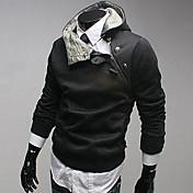 Camisas Casuales ( Algodón )- Casual Manga Larga para Hombre