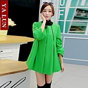 yalun®hotセール!女性のプラスサイズの韓国岬コート