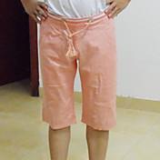 メンズソリッドカラーファッションショートパンツ