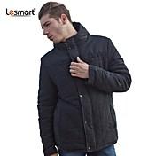 メンズファッションステッチ厚く暖かいコートのジャケットlesmart®