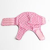 Perro Abrigos Ropa para Perro Cosplay A Lunares Lazo Gris Morado Verde Azul Rosa Disfraz Para mascotas