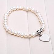 パーソナライズされたギフト養殖真珠のブレスレット