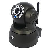 GTビューパンチルトワイヤレス監視動き検出オーディオ屋内のP2P IPカメラ