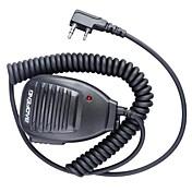 alta calidad única talkie walkie diseño micrófono de mano profesional baofeng 5r-mic
