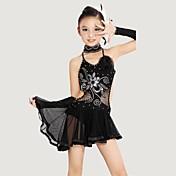 Vamos a los niños latinos de baile de poliéster / lycra (vestido / corbata / pulsera) trajes