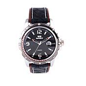 Reloj Deportivo Banda Negro Dorado Oro Rosa