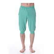 Yokaland Hombre Pantalones Harén Pantalones cortos de running - Gris, Verde Deportes Pantalones / Sobrepantalón / Prendas de abajo Yoga,
