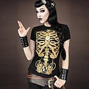 WOMEN - カジュアル/パーティー - Tシャツ ( コットンブレンド ラウンド - 半袖