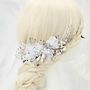 imitación perla rhinestone aleación peine del pelo peine estilo elegante