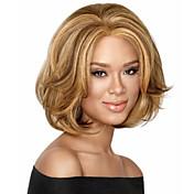 Mujer Pelucas sintéticas Rizado Marrón Pelucas para Disfraz
