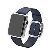 Ver Banda para Apple Watch Series 3 / 2 / 1 Apple Correa de Muñeca Hebilla Moderna Piel