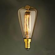 e14 40w st48 bombilla amarilla edison pequeña tapa de rosca lámpara retro bombillas decorativas