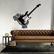 Musik / Former Wall Stickers Fly vægklistermærker,vinyl 43*46cm