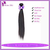 人間の髪編む マレーシアンヘア ストレート 6ヶ月 1個 ヘア織り