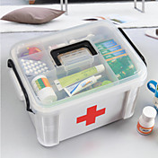 caja de píldora de cofres de medicina de salud familiar primeros auxilios scrapbooking& kits de estampado