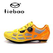 Tiebao Sneakers Sko til landevejscykling Cykelsko Herre Anti-glide Dæmpning Ventilation Virkning Slidsikkert Vandtæt ÅndbarUdendørs