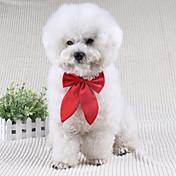 Perro Corbata/Pajarita Ropa para Perro Bonito Boda Lazo Negro Rojo Wine Disfraz Para mascotas